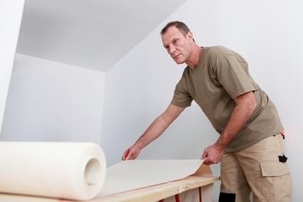 Coller du papier peint : les étapes - Le Wiki du bricoleur | Le coin des bricoleurs - Votre communauté | La gazette des bricoleurs | Scoop.it