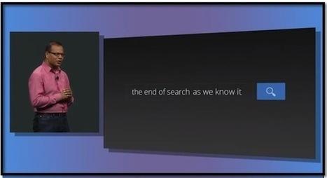Google présente son moteur de recherche pour le futur | Arobasenet | Etudions Google | Scoop.it