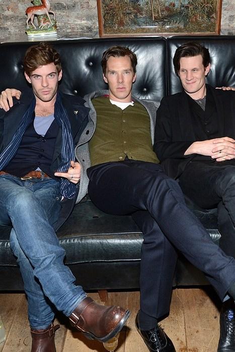 Treadaway, Cumberbatch & Smith Men's Fashion Week - celebrity pics | Fashionable Things | Scoop.it