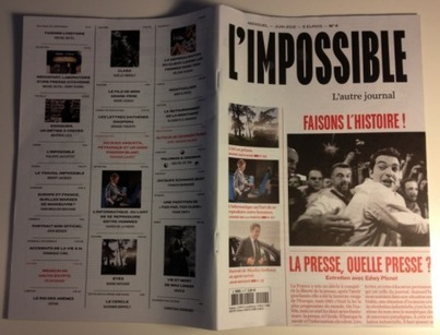 Mediapart dans L'Impossible: «La presse, quelle presse?» | Journalism-evolution | Scoop.it