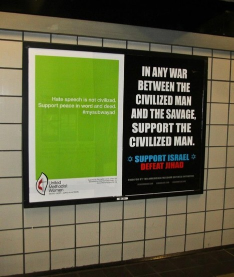 Pro-Tolerance Ads Begin Appearing In NYC Subway | Mouvement. | Scoop.it