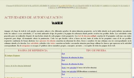 Actividades Antiguo Régimen - Revolución Industrial | Webs útils | Scoop.it