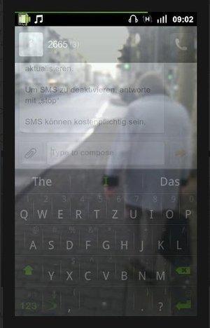 Camina y teclea a la vez en Android con Transparent Screen   Recull diari   Scoop.it