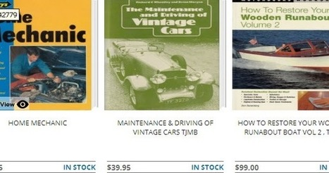 Restoring your classic car with the help of a manual | Motor Book World | Scoop.it