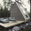 Micro Wooden Cabin Architecture – Fubiz™   Maison   Scoop.it