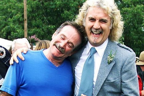 Robin Williams 'found peace' in Scottish Highlands trips with pal Billy Connolly - Mirror.co.uk | paperart | Scoop.it