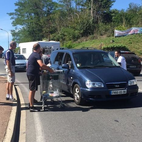 Manifestation des agriculteurs à Sarlat : des porcelets dans le magasin Casino | Agriculture en Dordogne | Scoop.it