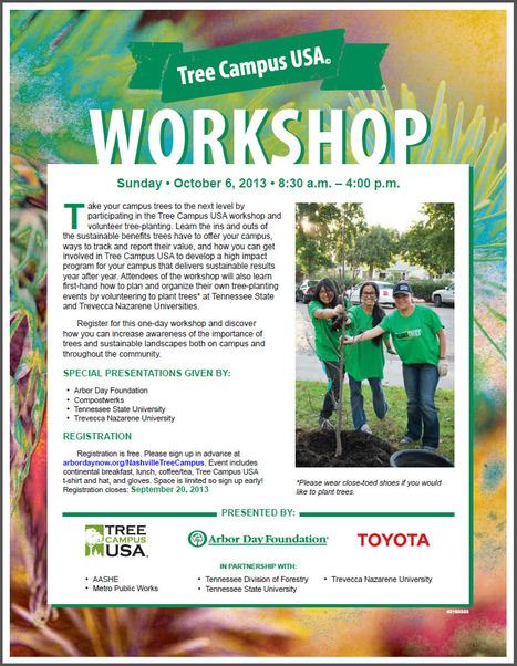 TSU to host tree-planting ceremony | Tree Campus USA | Scoop.it
