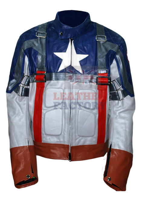 Captain America Leather Jacket | Leather Jackets | Scoop.it