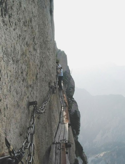 [Refreshingly Good Health and Safety] *Mt. Hua Shan, China* follow +Amazing ... - pbniel@gmail.com - Gmail | Work accidents | Scoop.it