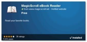Visualiza libros de ePub desde Chrome con MagicScroll eBook ... - Lukor | Libros digitales | Scoop.it
