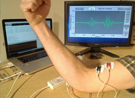 Open Source EMG Biosensor Coming to a Muscle Near You | 001 | Scoop.it