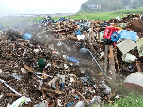 [photo] Pollution à Rikuzentakata | Guy Wyles | Japon : séisme, tsunami & conséquences | Scoop.it