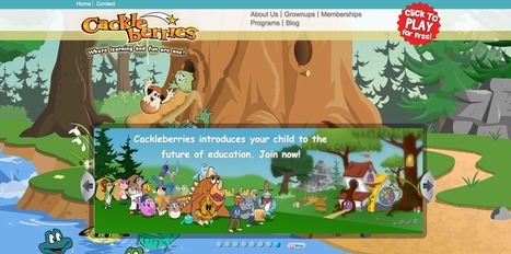 Cackleberries - A Virtual Learning World for Young Learners   Digital Delights - Avatars, Virtual Worlds, Gamification   Scoop.it