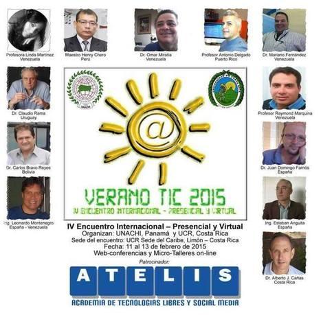 Universidad de Costa Rica: IV Encuentro Internacional Verano TIC 2015   Aprendiendo TIC y Educación-Learning every day TIC and Education   Scoop.it