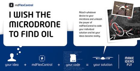 microdrones UAV - platform for aerial inspections, aerial video, aerial photography, | aerial video drones | Scoop.it
