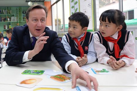 David Cameron says British schoolchildren should be taught Mandarin ahead of French or German | learn languages | Scoop.it
