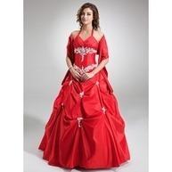 [SEK 1379] Платье для Балла V-образный Длина до пола Тафта Пышное платье с Рябь кружева Бисер блестками (021004554) | beautifuldresses | Scoop.it