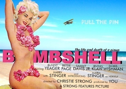Bombshell: A Transmedia Journey into the Heart of a Pinup | Transmedia Storytelling for Business | Scoop.it