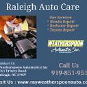 Best Car Repair Shop In Raleigh Nc | rayweatherspoonauto | Scoop.it