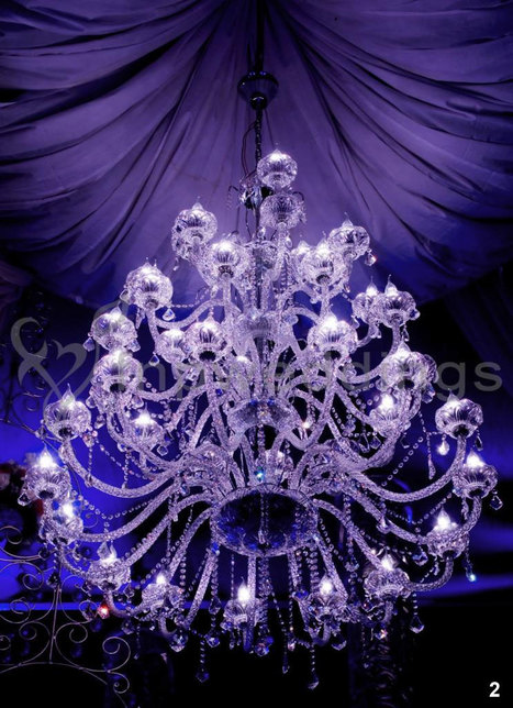 Crystal Chandeliers for Wedding Decorations   Wedding Decor India   Scoop.it