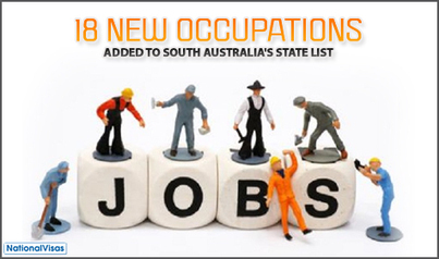 South Australia adds new jobs in its State Occupations List   Skilled Workers in Australia   Scoop.it
