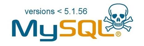 Multiples vulnérabilités sur MySQL < 5.1.56 ~ Cr@zy WS | La veille du WebDeveloper | Scoop.it