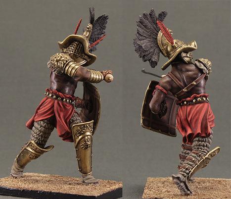 Gladiator | Military Miniatures H.Q. | Scoop.it