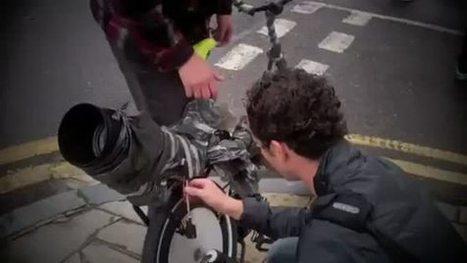Découvrez le vélo à vinyles Feats Per Minute bike en vidéo | Du vinyle au disquaire indépendant | Scoop.it