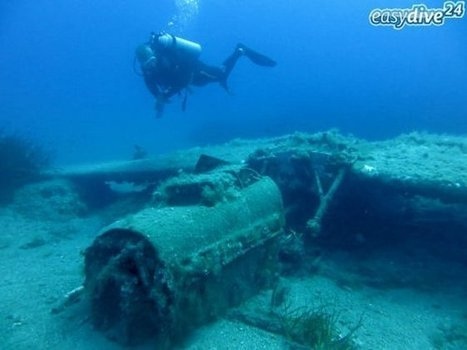 German Aircraft in the Sea Bottom of Crete - Greek Reporter | Travel To Crete | Scoop.it