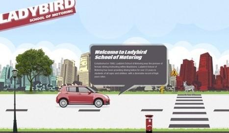 Navigation horizontale : une nouvelle alternative graphique à l'ère du tout-mobile ? - Emarketinglicious | WEBDESIGN | Scoop.it