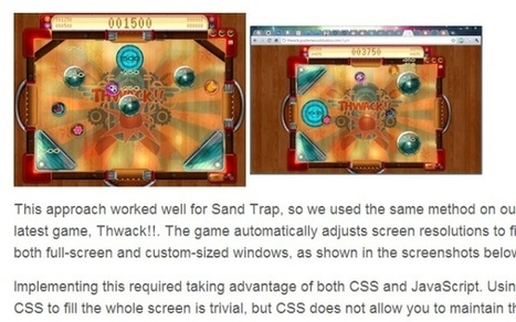 30 Useful Tutorials for Developing HTML5 Web Browser Games   programming   Scoop.it