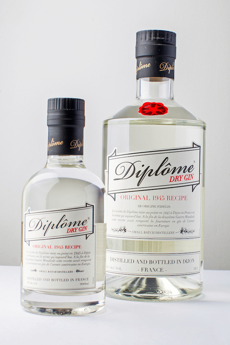 Discover: Historic 1945 French Diplôme Dry Gin - EAT LOVE SAVOR Luxury Lifestyle Magazine | diplomedrygin | Scoop.it