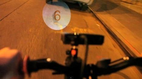 Un affichage pour vélo qui utilise la route comme écran | {niKo[piK]} | Bike & Commuting lifeStyle | Scoop.it