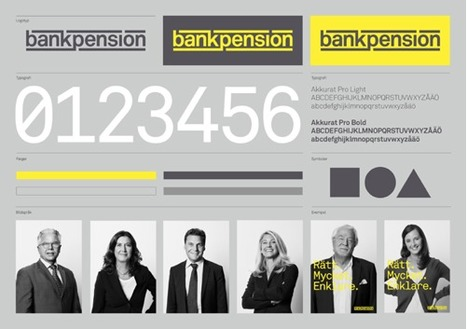 New logo: Bankpension | Corporate Identity | Scoop.it