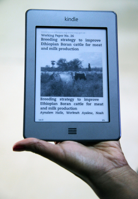 E-readers narrow the information gap - Agriculture and Ecosystems Blog | Friday Links | Scoop.it