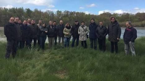 Parlamentarios forales visitan las zonas afectadas por las inundaciones del Ebro en 2015   Ordenación del Territorio   Scoop.it