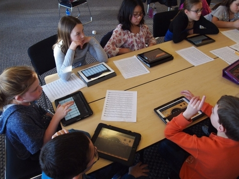 12 Characteristics Of An iPad-Ready Classroom | Inspiration Application | Scoop.it