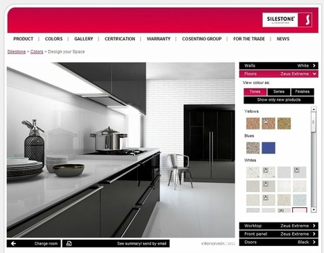 Design   Kitchen on Design Your Own Kitchen With The Silestone Visualizer Tool