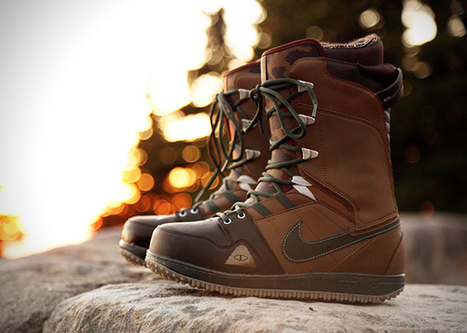 Poler x Nike Vapen Snowboard Boots | Wake Up From Sleep | Unique | Scoop.it