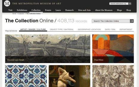 Más de 400 mil imágenes gratis del Museo Metropolitano de Arte de Nueva York | Pedalogica: educación y TIC | Scoop.it