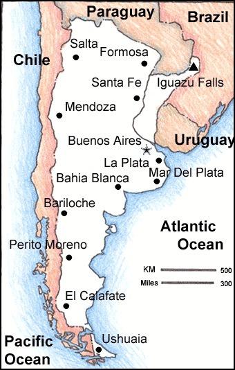 Argentina's Area | Argentina, Sierra Watson | Scoop.it