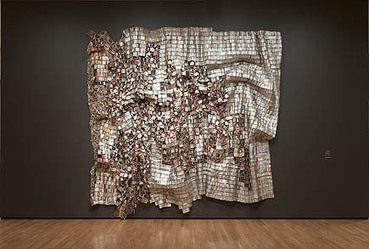 Gravity and Grace: Monumental Works by El Anatsui on View at Brooklyn Museum | My Africa is... | Scoop.it