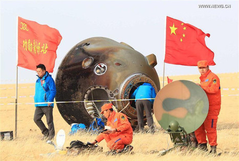 The Chinese Shenzhou 11 space mission has ended | Science and technology | Scoop.it