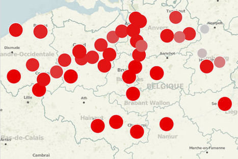 Carte interactive: Quel groupe écoute-t-on le plus dans votre ville? - Le Vif | B4C | Scoop.it