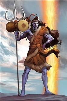 In India, Hindu gods get a muscular makeover. Check out Shiva's biceps | Studio Art and Art History | Scoop.it