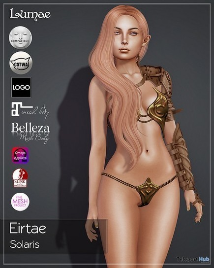 Eirtae Solaris Skin With Appliers Group Gift by Lumae | Teleport Hub - Second Life Freebies | Second Life Freebies | Scoop.it