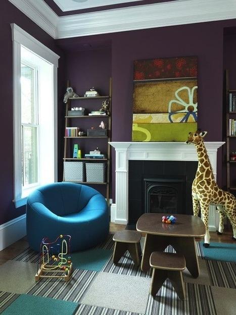 Happy Huesday | Aubergine Decor | Home Trend | Interior Design | Designing Interiors | Scoop.it