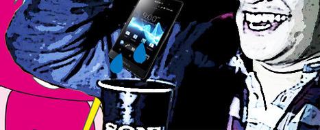Sony cache ses smartphones dans du soda | Buzzounours | Tout sur les réseaux sociaux et le commerce | Scoop.it