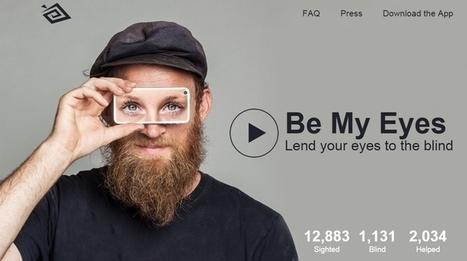 Una gran idea para ayudar a personas no videntes a través de una aplicación móvil | GeeksRoom | Mobile Learning y apps educativas. Últimas tendencias, estudios, experiencias, recursos  y aplicaciones a utilizar | Scoop.it